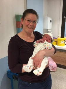 Me and Isla 2 hours after birth!