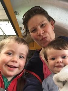 Longleat family selfie!